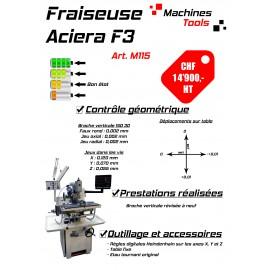 Fraiseuse Aciera F3 ISO30