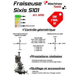 Fraiseuse Sixis S101